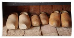 Wooden Clogs Hand Towel