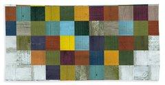 Bath Towel featuring the digital art Wooden Heart by Michelle Calkins