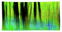 Woodland Abstract Vi Bath Towel