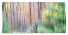 Woodland Hues 2 Hand Towel by Bernhart Hochleitner