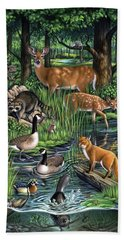 Woodland Bath Towel