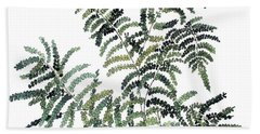 Woodland Maiden Fern Hand Towel