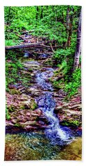 Woodland Stream Bath Towel by Andy Lawless