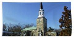 Woodlawn Cemetery Chapel Hand Towel