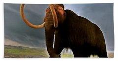 Woolly Mammoth Bath Towel
