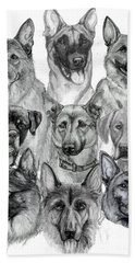 Working Dogs Of Florida Hand Towel