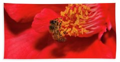 Hand Towel featuring the photograph Working Hard 02 by Kevin Chippindall