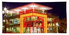 World Of Coca Cola At Disney Springs Bath Towel