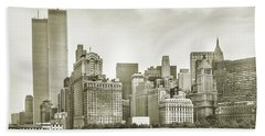 World Trade Center Twin Towers Bath Towel