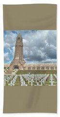 World War I Memorial At Verdun France Bath Towel
