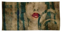 Bath Towel featuring the photograph World Without Love  by Paul Lovering