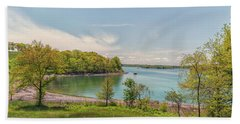 Worlds End Hingham Massachusetts Bath Towel