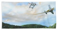 Wwii Dogfight Hand Towel