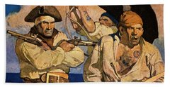 Wyeth: Treasure Island Hand Towel