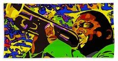 Wynton Marsalis Plays Louis Armstrong Rework Hand Towel