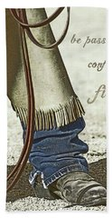 Hand Towel featuring the photograph Wyoming Fierce by Amanda Smith