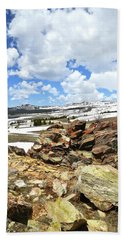 Wyoming's Big Horn Pass Bath Towel