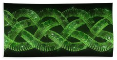 Wyrm - The Celtic Serpent Bath Towel