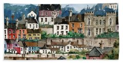 F 762   Kinsale Harbour, Cork Bath Towel