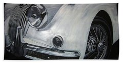 Xk150 Jaguar Bath Towel