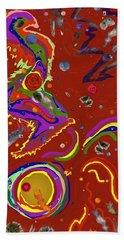Xtine's Nebula 1 Bath Towel