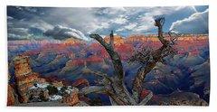 Yaki Point Grand Canyon Hand Towel by Anthony Dezenzio