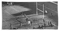 Yale Attempts Forward Pass Hand Towel by Underwood Archives