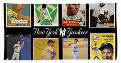 Yankee Cardboard Greats Hand Towel
