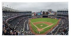 Yankee Stadium And Field  Bath Towel