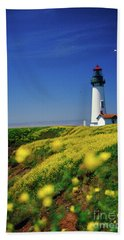 Yaquina Head Lighthouse- V2 Hand Towel