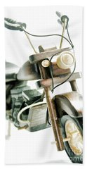 Yard Sale Wooden Toy Motorcycle Hand Towel