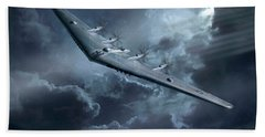 Yb-35 Flying Wing  Hand Towel