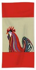 Ybor City Rooster Bath Towel