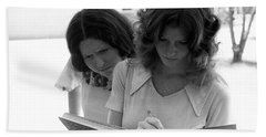 Yearbook Signing, 1972, Part 1 Bath Towel