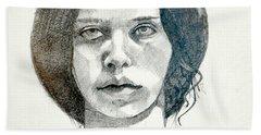 Yelena Hand Towel by Ray Agius