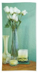 Yellow And Green Hand Towel