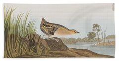 Yellow-breasted Rail Hand Towel