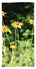 Yellow Daisies In The Sun Hand Towel