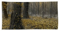 Yellow Forest Hand Towel