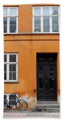 The Orange House Copenhagen Denmark Bath Towel