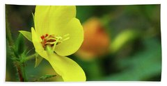 Yellow Moth Mullein In Tennessee Bath Towel