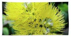 Yellow Ohia Flowers - Hawaii  Bath Towel