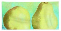 Yellow Pears Bath Towel