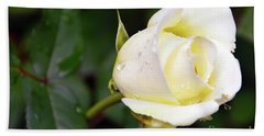 Yellow Rose 2 Bath Towel