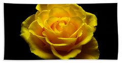 Yellow Rose 4 Bath Towel
