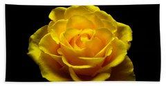 Yellow Rose 4 Hand Towel