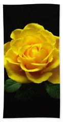 Yellow Rose 6 Hand Towel