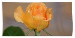 Yellow Rose Of Texas Hand Towel by Joan Bertucci