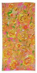 Yellow Roses Of Texas Hand Towel