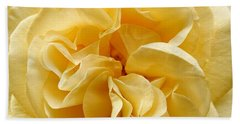 Yellow Ruffles - Rose Hand Towel